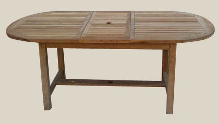 004A7 ovális kihúzható asztal 120x240-300-360 cm