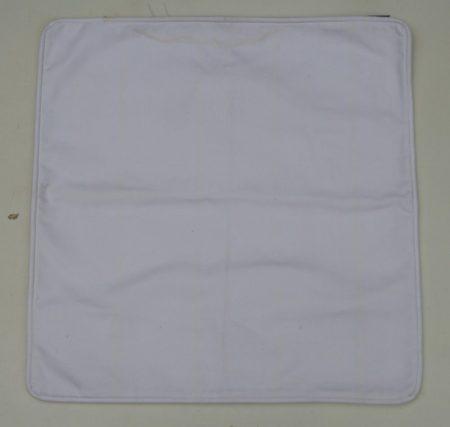 P002AE párnahuzat, fehér, törtfehér (cotton)