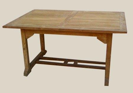 004B7 négyszögletű kihúzható asztal 120x200-250-300 cm